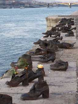 Shoes on the Danube Bank, Holocaust memorial, Budapest